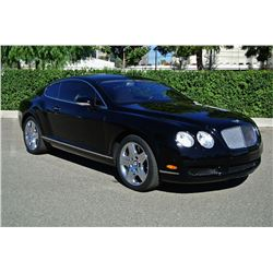 2005 Black Bentley Continental GT Coupe