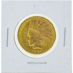 1926 $10 Indian Head Gold Coin BU