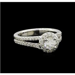 1.08 ctw Diamond Ring - 14KT White Gold