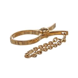 Hermes Gold Plated Filou Glove Clip