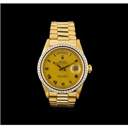 Rolex 18KT Gold President Day-Date Men's Watch