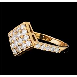 1.00 ctw Diamond Ring - 14KT Rose Gold