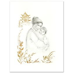 Lei Jeigiong and her Baby in the Garden of Yun-Tai