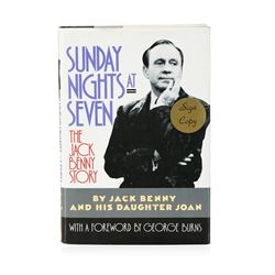Signed Copy of Sunday Nights at Seven: The Jack Benny Story by Jack Benny and Jo