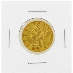 1901S $5 Liberty Head Gold Coin