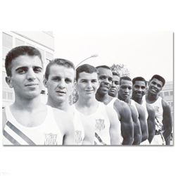 Ali with USA Olympians