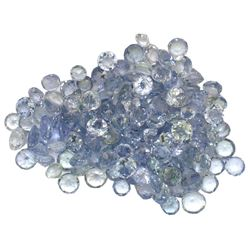 10.23 ctw Round Mixed Tanzanite Parcel