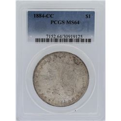 1884-CC PCGS MS64 Morgan Silver Dollar