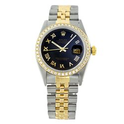 Rolex Pre-owned 36mm Mens Black Two Tone - REF-610R4M