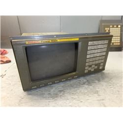"FANUC A02B-0166-C201/R 9"" CRT/MDI UNIT *IMAGE BURN IN* *SEE PHOTOS*"