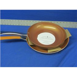 2 Copper Chef frying pans