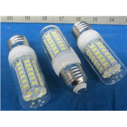 3 LED light bulbs 56 led cobb lights