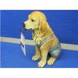 "Dog lawn and garden ornament 16"" high"