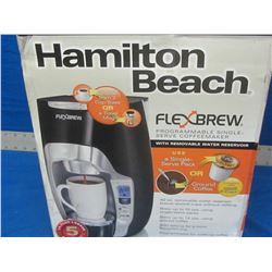 Hamilton beach flex brew single cup coffee maker