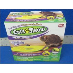 Cat's Meow 3 speed cat toy