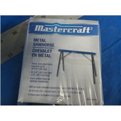Mastercraft metal folding saw horse