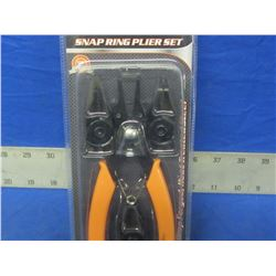 4 piece Snap ring plier set