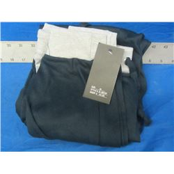 New Coco limon womens sweat pants size med / black-grey 44.00msrp