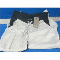 New Coco limon womens sweat pants size med / grey /black 44.00msrp
