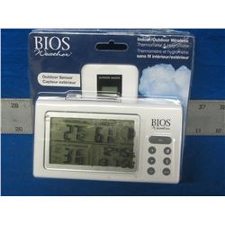 Bios indoor/outdoor weather station