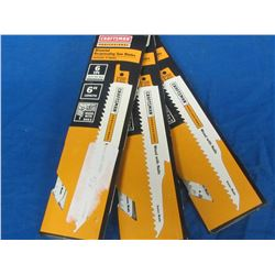 Craftsman sawzall blades / wood with nails / 15blades total