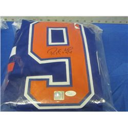 Ryan Smith # 94 Hand Signed Oilers jersy with C.O.A jsa and universal