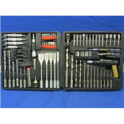 90 piece Drill Driver set is carry case