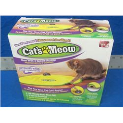 Cat's Meow 3 speed cat toy / as seen on tv