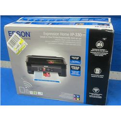 New Epson XP-330 small all in one printer / LCD complete wireless
