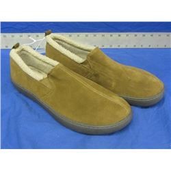 New Mens slippers genuine suede size 12
