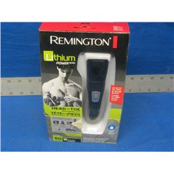 Remington Lithium head to toe trimmer grooming kit