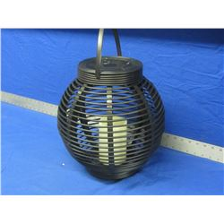 "Large LED patio lantern candle 14"" x 14"""