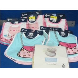 Large bundle of Gerber Baby starter bibs/ feeder bibs and 1