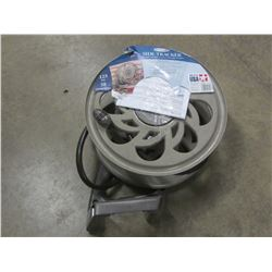 New Hose reel / up to 125ft / reel comes off mount for winter storage