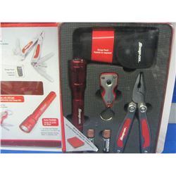 Snap-On 3 piece multi function tool kit / in Case