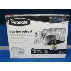 Petmate wire dog crate