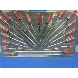 20 Piece Screwdriver set