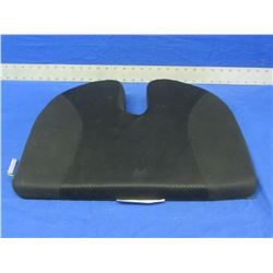 Memory foam portable seat cushion