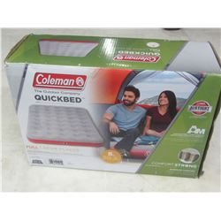 Coleman quick bed / full