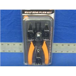 New 4 piece snap ring plier set