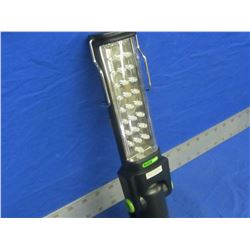 27 LED fully adjustable work light / with clamp
