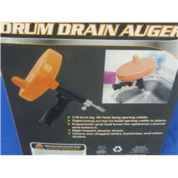 16 ft Drum Drain Auger / for your sinks and drains