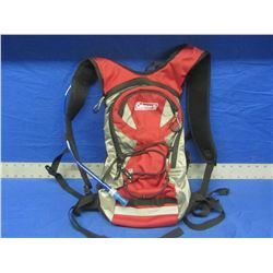 Coleman hikers backpack with built in waterbag and hose