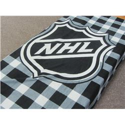 NHL Soft blanket 100% polyester