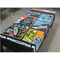 Star Wars soft blanket
