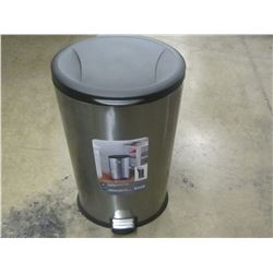 New Stainless 30 litre garbage can with soft close lid