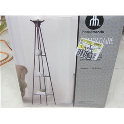 """New Hometrends Floor lamp/ charcoal finish 69 1/2"""" high"""
