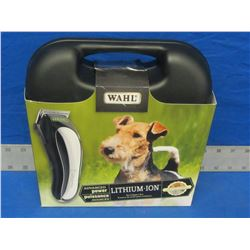 New Wahl Lithium Pet Clipper Kit