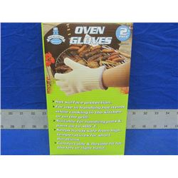 2 pack of New oven gloves