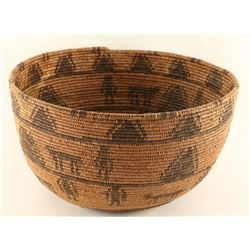 Apache Basket with Effigies